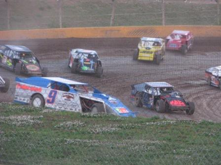 Ceder Lake 3M NASCAR at dirt track - Photo (C) 2008 Karen Schulz all rights reserved