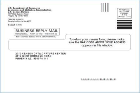 US 2010 Cenus forms