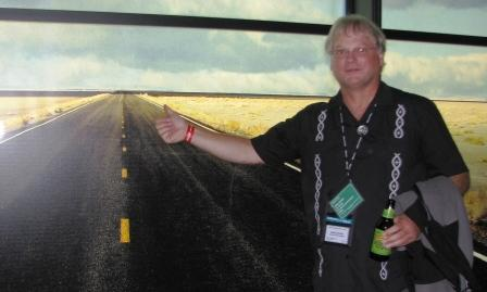 Greg hitchin a virtual ride on the virtual road at VMworld 2010