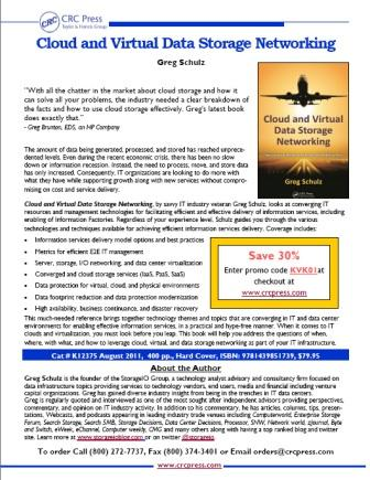 Flyer with book info and CRC publishers special discount code
