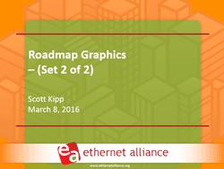 Ethernet Alliance 2016 roadmap presentation #2