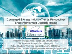 webinar converged storage