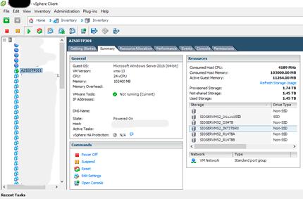 storageio azure stack tp3 vmware configuration