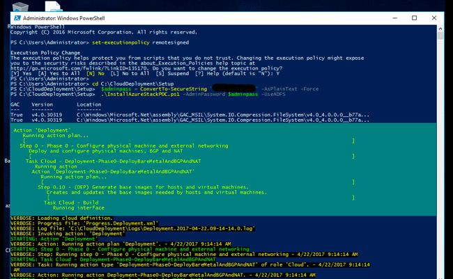 starting azure stack tp3 deployment
