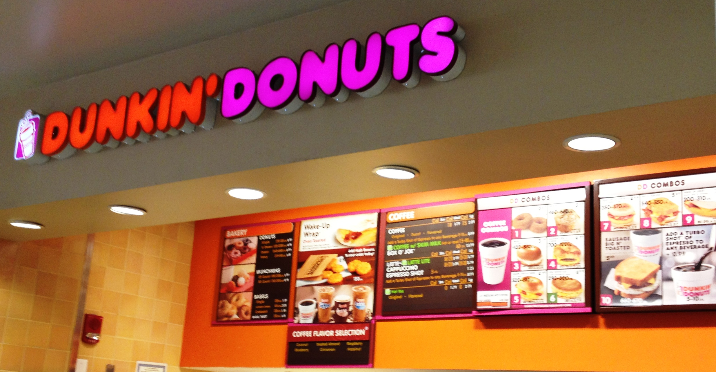 The world and storageio runs on dunkin donuts