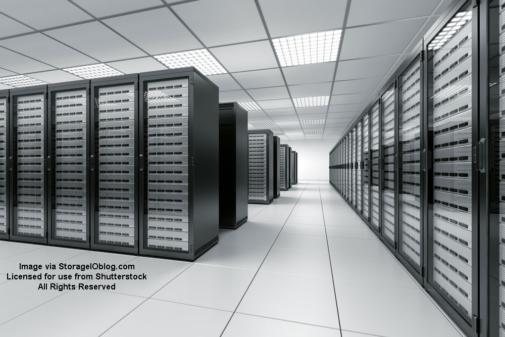 Storage I/O data center image