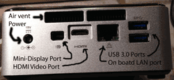 Intel nuc server storage I/O ports