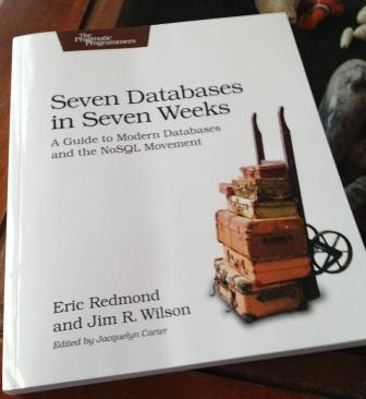 Cover image of seven databases in seven weeks book image