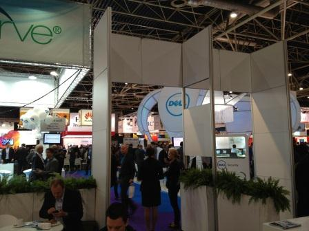 Image of StorageExpo Holland exhibit show floor in Utrecht