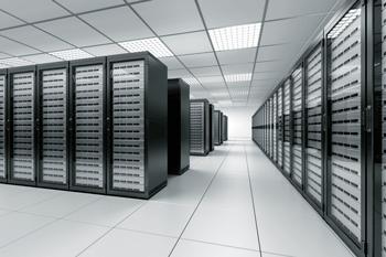 inside a data center
