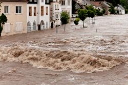 Flood of water vs. flood of data