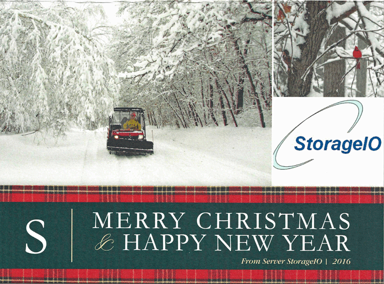 Happy Holidays from Server StorageIO