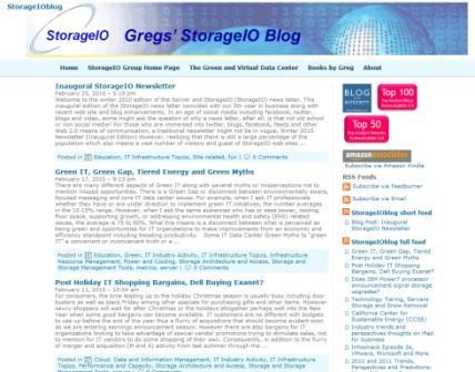 StorageIO Blog