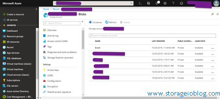 Contents of Data Box disks copied into specified Azure Blobs and storage account