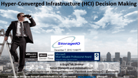 Hyper-Converged Infrastructure, HCI and CI Decision Making