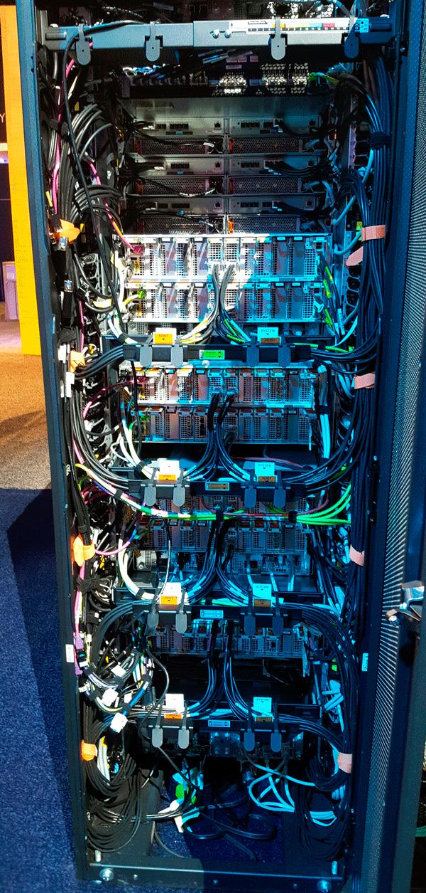 Dell Technology World 2018 PowerMax back view