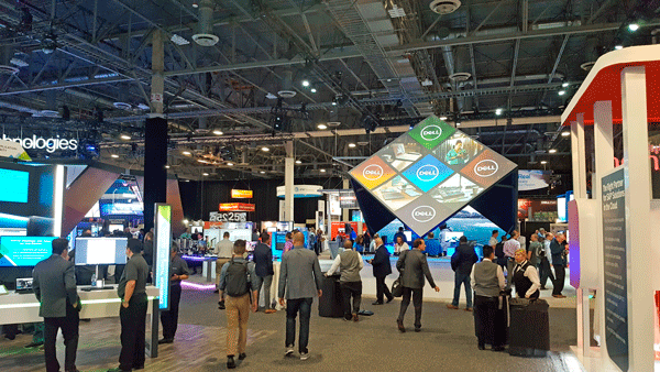 Dell Technology World 2018 Commons Area Virtual Village