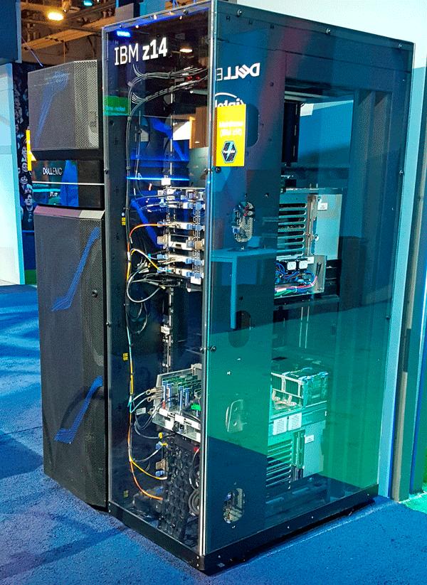 IBM Z Zed Mainframe at Dell Technology World 2018