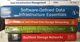 Data Infrastructure Books by Greg Schulz
