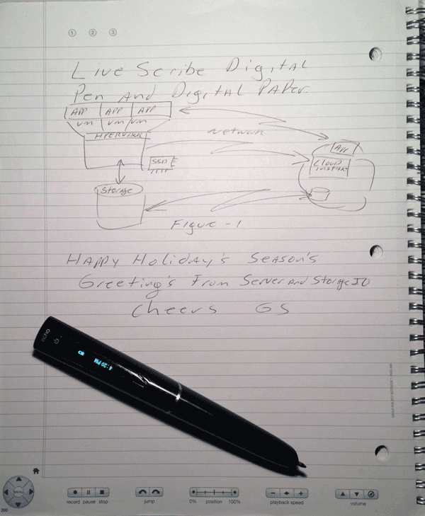livescribe digital pen