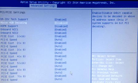 Lenovo TD350 fix VMware ACPO error