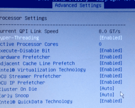 Breaking the VMware ESXi 5 5 ACPI boot loop on Lenovo TD350