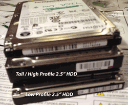 2.5 HDD and SSDs
