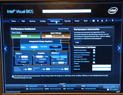 Intel NUC Visual BIOS