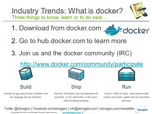 What to know about docker