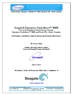 Storage I/O Seagate Enterprise Turbo White Paper