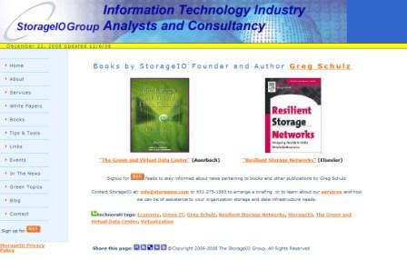 Books by StorageIO at www.storageio.com/books.html