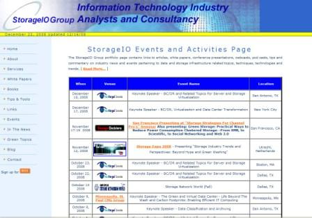 Events at www.storageio.com/events.html