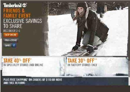 Shop Timberland Sale