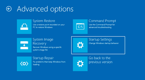 Windows 10 System Repair Options